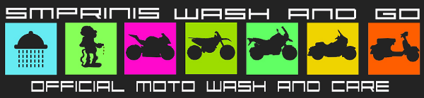 Smprinis.gr :: Wash & Go :: Πλυντήριο μοτοσυκλετών